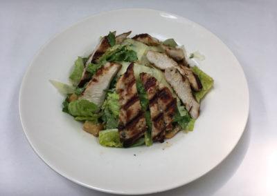 Grilled Chicken over Caesar Salad