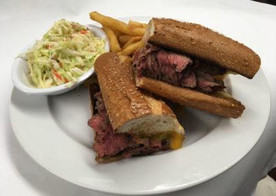 Sliced Steak Sandwich